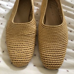 Zara straw shoes